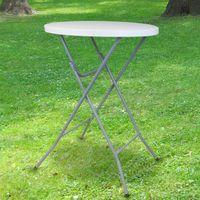 Table Haute Mange Debout Pliante 110x80 cm