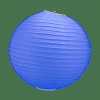 Boule Papier Bleu Roi 30 cm x3