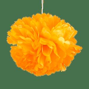 Pompons Orange 50cm x2