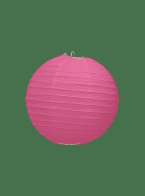 Boule Papier Fuchsia 10 cm x3