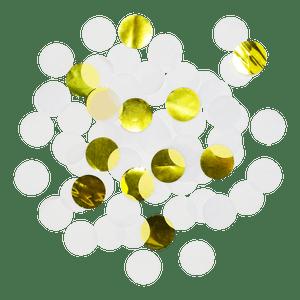Confettis Deluxe Blanc