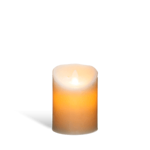 Bougie Led Flamme Vacillante Blanc 10 cm