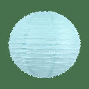 Boule papier 40 cm Bleu Ciel