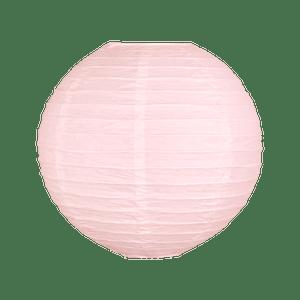 Boule papier 30cm Rose pâle