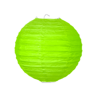 Boule papier 20cm Vert