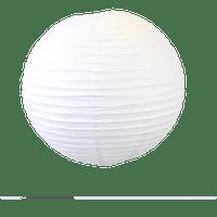 Deco Pour Mariage & Fête Boule Papier 60Cm Blanc (Lot De 2 Pièces)