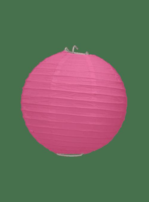 Boule Papier Fuchsia 20 cm x10