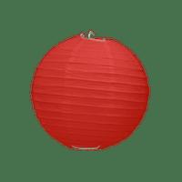 Boule Papier Rouge 10 cm x3