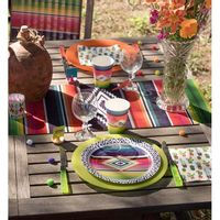 Gobelet Carton Mexique Multicolore x10