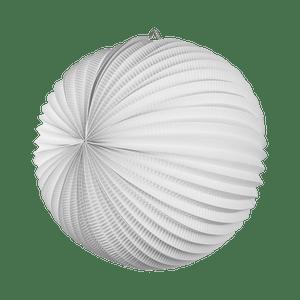Lampion rond 36 cm Blanc
