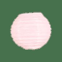 Boule papier 10cm Rose pâle