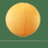 Decoration De Mariage & Fête Boule Papier 50Cm Orange (Lot De 3 Pièces)