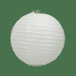 Boule Papier Blanc 20 cm x10