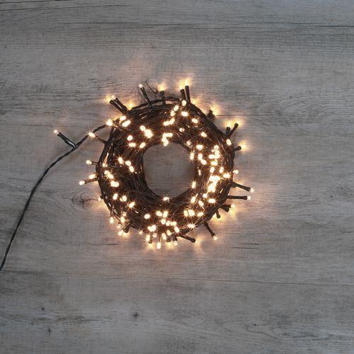 Guirlande Lumineuse 180 LEDs Blanc Chaud 13,50 m
