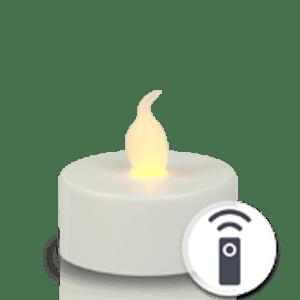 Bougie Chauffe Plat LED x1 Télécommandable
