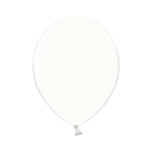 Ballon Transparent Latex Biodégradable 28 cm