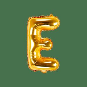 Ballon Lettre E Or 35 cm