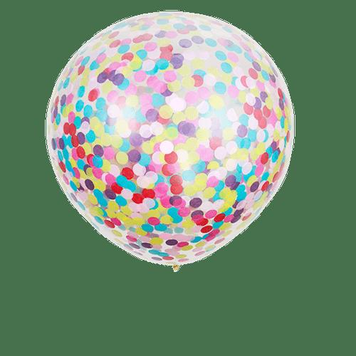 Ballon Géant Confettis x3