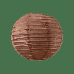 Boule papier 20cm Chocolat