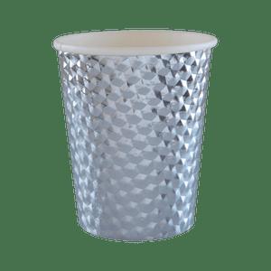 Gobelet Carton Argent 7,8 cm x10
