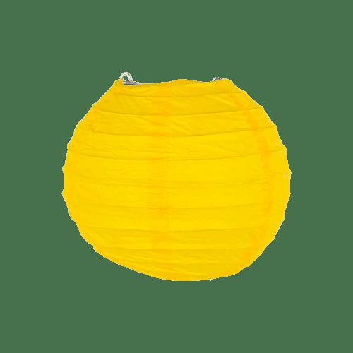 Boule Papier 10cm Jaune