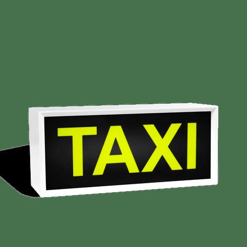 Lightbox Taxi noir