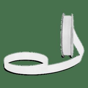 Ruban en Soie Transparent Blanc 12mm x 25m