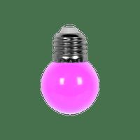 Ampoule Guirlande Guinguette Led E27 Couleur Violet