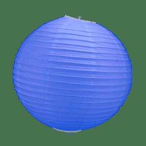 Boule Papier Bleu Roi 30 cm x10