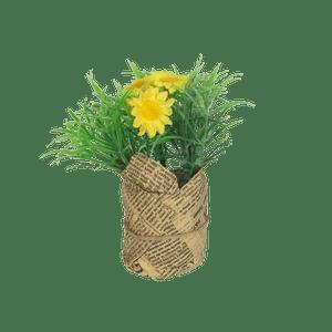 Sachet À Fleur Fausse fleur Jutte Jaune