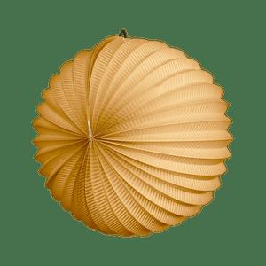 Lampion rond 30cm Sable