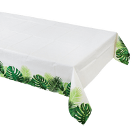 Nappe Papier tropical blanc