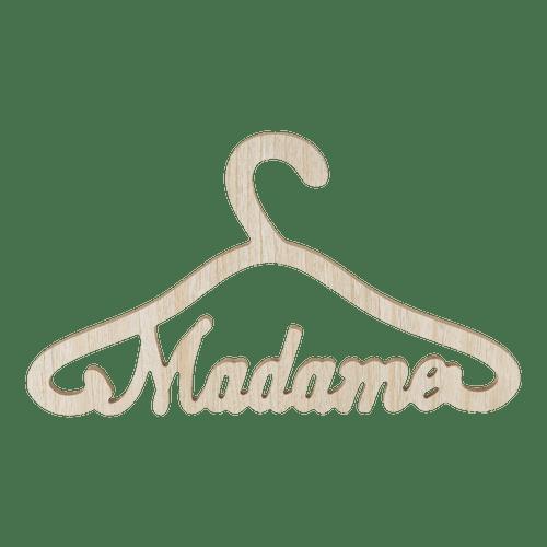 Cintre Mariage Bois Madame 35 cm
