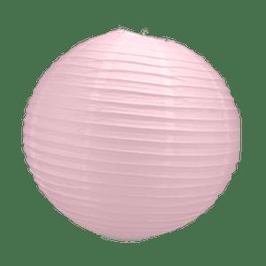 Boule Papier Rose Pale 30 cm x10