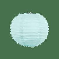 Boule papier 10cm Aqua Marine