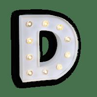 Lettre Lumineuse D