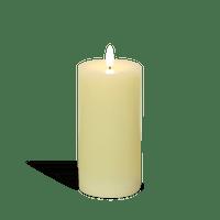 Bougie Led Ivoire Flamme Réaliste 15 cm