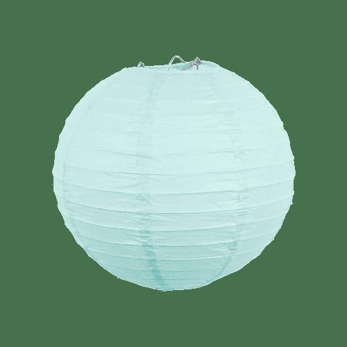 Boule papier 20cm Aqua Marine