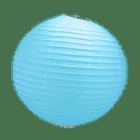 Boule Papier Turquoise 30 cm x10