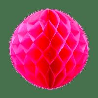 Boule chinoise alvéolée 40 cm Fuchsia
