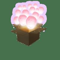 Balloon Rose Pâle x100