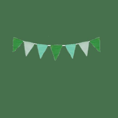 Decoration Pour Mariage & Fête Guirlande Papier Vert (Lot De 3 Pièces)