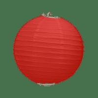 Boule Papier Rouge 20 cm x3