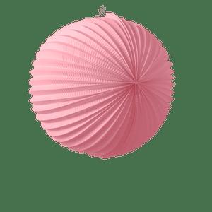 Lampion rond 36 cm Rose Pâle