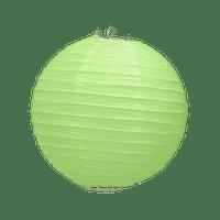 Boule Papier Vert 20 cm x10