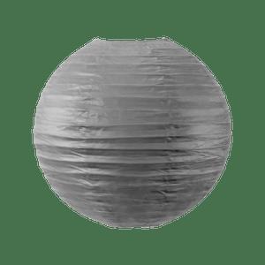 Boule papier 30cm Gris