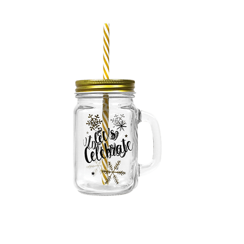 Mason Jar Or Let's Celebrate