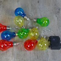 Guirlande à bulbes Plastique Multicolore