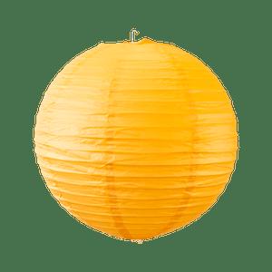 Boule papier 30cm Orange