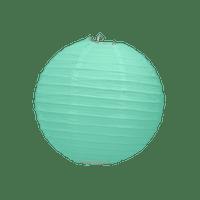 Boule Papier Vert Eau 10 cm x3